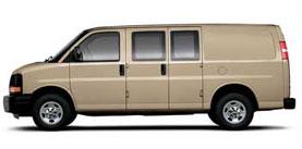 Chevrolet Express Cargo Van RWD 2500 135