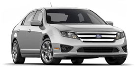 2010 Ford Fusion SE 4D Sedan
