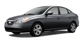 2010 Hyundai Elantra 4D Sedan