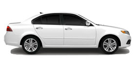 2010 Kia Optima LX 4D Sedan