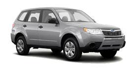 2010 Subaru Forester 2.5X 4D Sport Utility