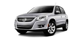 2010 Volkswagen Tiguan SE 4D Sport Utility