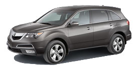 Acura MDX 3.7L Automatic with Advance and Entertainment Packages