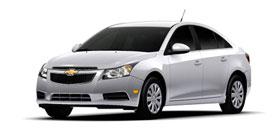 2011 Chevrolet Cruze 1LT 4D Sedan