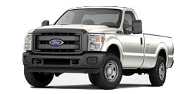 Ford Super Duty F-250 Regular Cab 8' Box XL