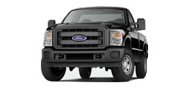 Ford Super Duty F-350 Regular Cab 8' Box XL
