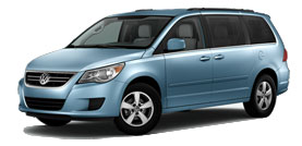 2011 Volkswagen Routan With Rear-Seat Entertainment and Navigation SE