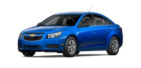 2012 Chevrolet Cruze LS 4D Sedan