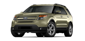 2012 Ford Explorer Limited Sport Utility 4D