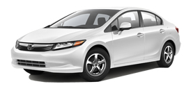 2012 Honda Civic CNG With Navigation