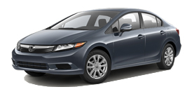 2012 Honda CIVIC SDN EX 4D AT
