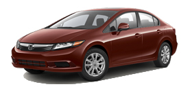 Honda Civic Sedan Automatic EX