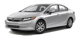2012 Honda Civic LX 4D Sedan