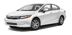 2012 Honda Civic LX 4D Sedan