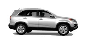 2012 Kia Sorento EX 4D Sport Utility