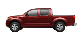 2012 Nissan Frontier Crew Cab 4.0L Automatic SV