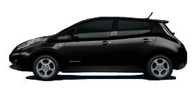 2012 Nissan Leaf 4D Hatchback