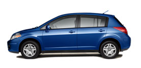 2012 Nissan Versa 1.8 Automatic 1.8 S