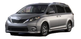 2012 Toyota Sienna LE 4D Passenger Van