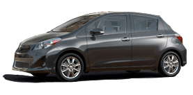 2012 Toyota Yaris Automatic SE Liftback