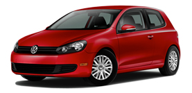 2012 Volkswagen Golf 2.5L PZEV with Convenience