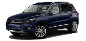 2012 Volkswagen Tiguan SE 4D Sport Utility