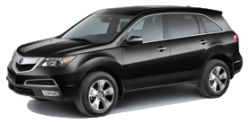 2013 Acura MDX 5D 3.7 V6 6-Speed AT