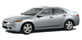 2013 Acura TSX 4D 2.4 L4 5-Speed AT