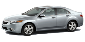2013 Acura TSX 4D 2.4 L4 5-Speed AT with Technology Package