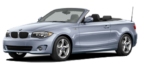 1 Series Convertible near Brentwood