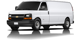 2013 Chevrolet Express Cargo Van Extended 3500 Base