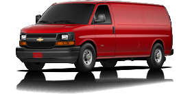 2013 Chevrolet Express Cargo Van