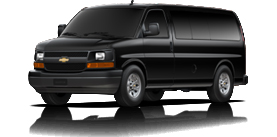 2013 Chevrolet Express Passenger Van