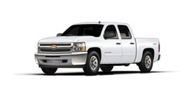 2013 Chevrolet Silverado 1500 2WD Crew Cab 143.5 LT