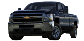 2013 Chevrolet Silverado 3500HD SRW Extended Cab Long Box WT