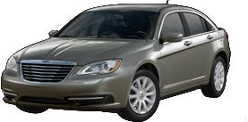 2013 Chrysler 200 Touring 4D Sedan