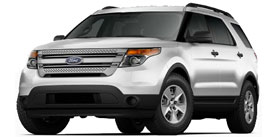 2013 Ford Explorer FWD 4dr
