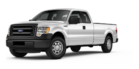 2013 Ford F-150 SuperCab 8' Box XL