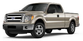 2013 Ford F-150 SuperCab 6.5