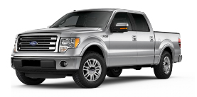 2013 Ford F-150 SuperCrew 5.5' Box Lariat
