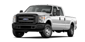 2013 Ford Super Duty F-250 Crew Cab 8' Box XL