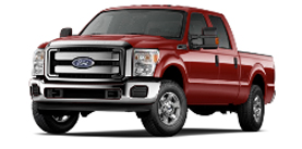 2013 Ford Super Duty F-250 Crew Cab 6.75' Box XLT