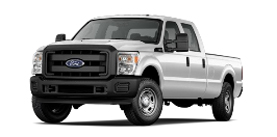 2013 Ford Super Duty F-350 Crew Cab 8' Box XL