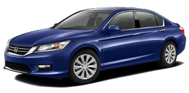 2013 Honda Accord Sedan 2.4 L4 with Leather EX-L
