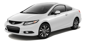  Civic Coupe Automatic with Leather and Navigation EX-L