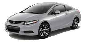 2013 Honda Civic Coupe Automatic with Navigation EX
