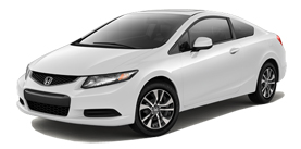 Civic Coupe Automatic with Navigation EX