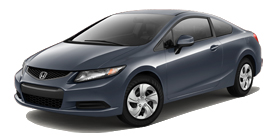 Passaic Honda - 2013 Honda Civic Coupe Automatic LX