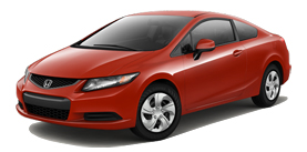 2013 Honda Civic Coupe Automatic LX