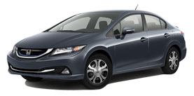 2013 Honda Civic Hybrid With Leather Base